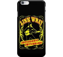 Link Wray (Supersonic Switchblade) Colour iPhone Case/Skin
