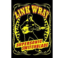 Link Wray (Supersonic Switchblade) Colour Photographic Print