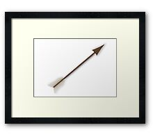Wooden Arrow Framed Print