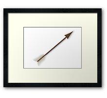 Wooden Arrow Framed Print