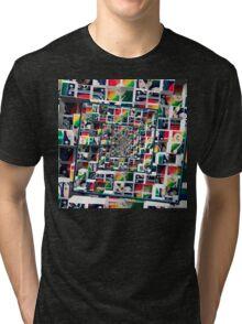 Computer Disks Pop Art Tri-blend T-Shirt