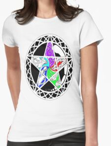 Five Elements Colour Version Womens Fitted T-Shirt