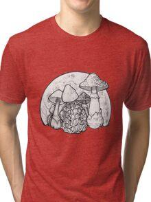 Moon Shrooms Tri-blend T-Shirt