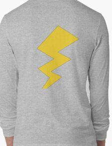 The Yellow Lightening Bolt Long Sleeve T-Shirt