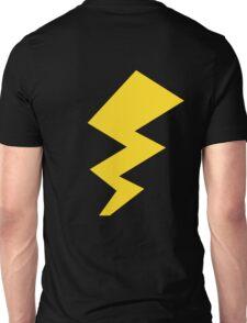 The Yellow Lightening Bolt Unisex T-Shirt