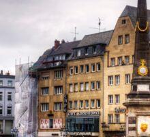 Bonn Market Square Sticker