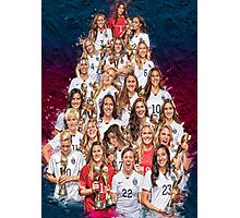 One Year World Cup Champions Photographic Print