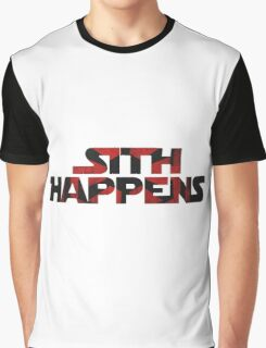 Sith Happens- Star Wars Graphic T-Shirt
