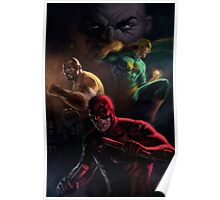 Daredevil and Crew Poster