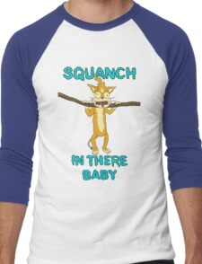Squanch in there, baby! Men's Baseball ¾ T-Shirt