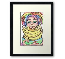 Going Bananas Framed Print