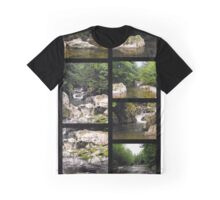River Rocks at the Four Corners Swimming Hole Graphic T-Shirt