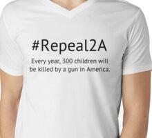 Repeal the 2nd Amendment Mens V-Neck T-Shirt