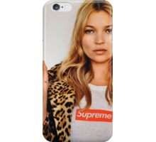 Supreme Kate Moss iPhone Case/Skin