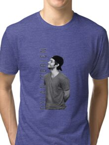 Dylan O'Brien - Black and White Tri-blend T-Shirt