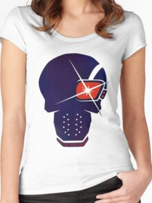 Deadshot Graph Women's Fitted Scoop T-Shirt