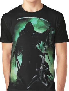 Grim Rocker Graphic T-Shirt