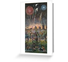 A Festive Celebration - Fireworks Greeting Card