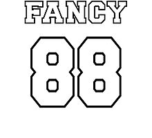 Fancy 88 - on light colors Photographic Print
