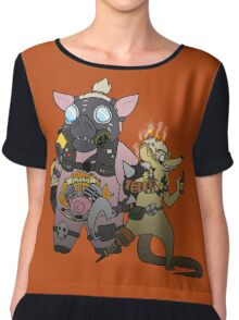 JunkRAT and RoadHOG Chiffon Top