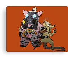 JunkRAT and RoadHOG Canvas Print