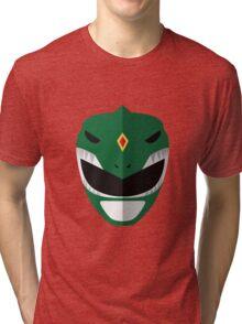 Mighty Morphin Power Rangers - Green Ranger Tri-blend T-Shirt