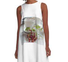 Still life with wild cherries A-Line Dress