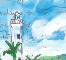 Galle Fort Lighthouse Sticker