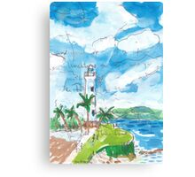 Galle Fort Lighthouse Canvas Print