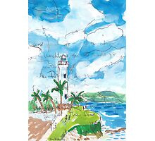 Galle Fort Lighthouse Photographic Print