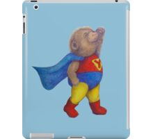 Super Hero Yoga Bear iPad Case/Skin