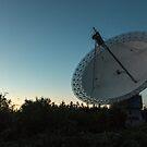 Algonquin Radio Telescope at dusk by Josef Pittner
