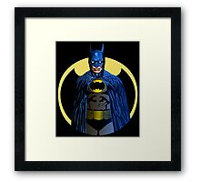 Clint Eastwood is the night Framed Print