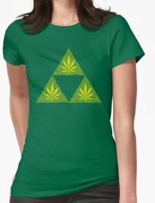 Weedforce Womens Fitted T-Shirt