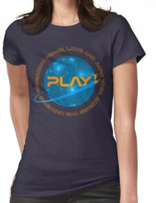 Astro P+L+AY  Womens Fitted T-Shirt