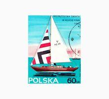 Polska Sailing Print Men's Baseball ¾ T-Shirt