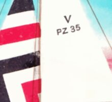 Polska Sailing Print Sticker