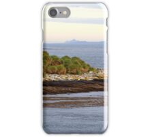 Approaching Carcass Island in The Falklands iPhone Case/Skin