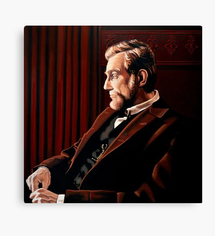 Abraham Lincoln by Daniel Day-Lewis Canvas Print