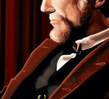 Abraham Lincoln by Daniel Day-Lewis Sticker