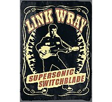 Link Wray (Supersonic Switchblade) Vintage Photographic Print