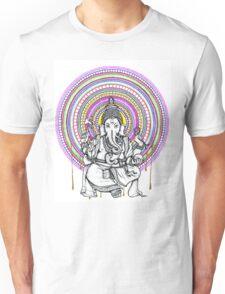 Lord Ganesh Mandala Unisex T-Shirt