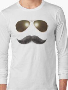 Easy Mustache Rider Long Sleeve T-Shirt