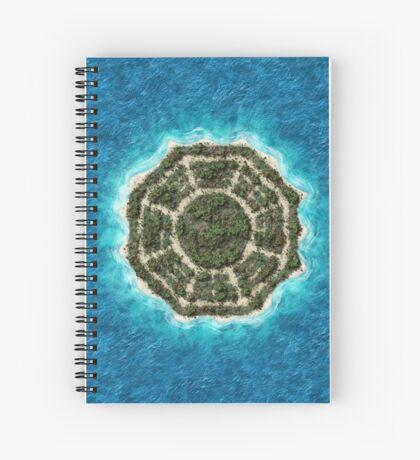 dharma island Spiral Notebook