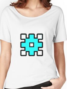 Geometry Dash - Back on Track Cube Women's Relaxed Fit T-Shirt