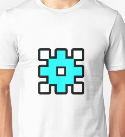 Geometry Dash - Back on Track Cube Unisex T-Shirt
