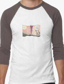 The Big Brain Men's Baseball ¾ T-Shirt