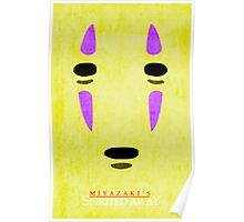 Spirited Away--No Face Poster