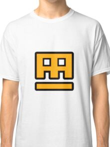 Geometry Dash - Stereo Madness Cube Classic T-Shirt