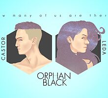 Project CASTOR & Project LEDA: Orphan Black Ver.2 by tangzpainter